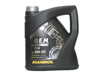 Моторное масло MANNOL O.E.M. for Hyundai Kia 5W-30  4 литра