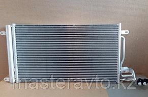 Радиатор кондиционера VW Polo Sedan (10-) / Skoda Rapid (12-) NEW