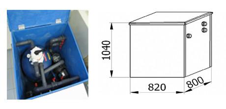 Фильтростанции в корпусе AQUQSTAR – FSK и FSK 2