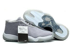 Баскетбольные кроссовки Nike Air Jordan 11 Future серые, фото 3
