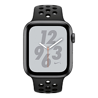 Apple watch series 4 44mm space gray aluminium case with anthracite black nike sport band