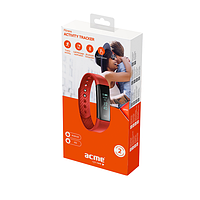 Фитнес-трекер acme act101r activity tracker red