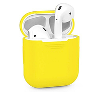 Apple airpods custom yellow