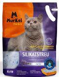 Murkel Мелкая фракция с ароматом Лаванды 2,2л (1кг) Силикагелевый наполнитель для кошачьего туалета
