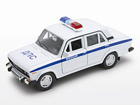 1/34 Welly Lada 2106 ДПС