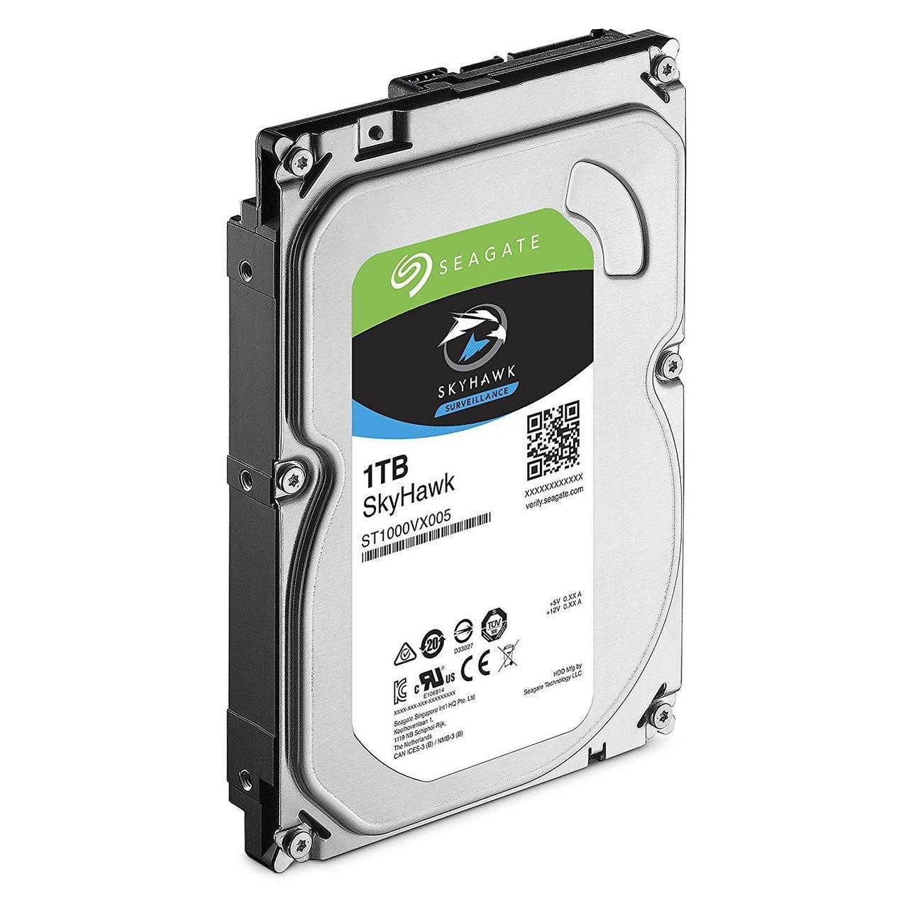 Внутренний  жесткий диск HDD 1000Gb SkyHawk Seagate