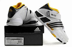Баскетбольные кроссовки Adidas T-Mac 3 (Tracy McGrady) бело-желтые, фото 3