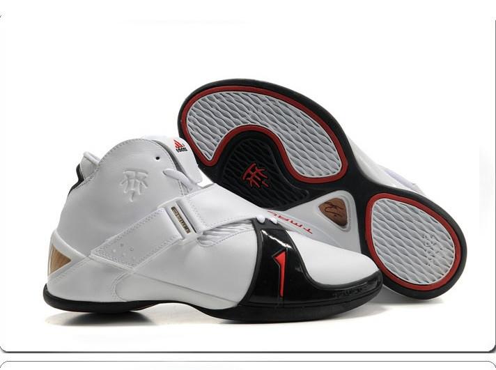 Баскетбольные кроссовки Adidas T-Mac 5 (Tracy McGrady) белые