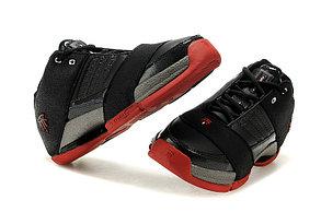 Баскетбольные кроссовки Adidas T-Mac 6 (Tracy McGrady) черно-красные, фото 3