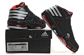 Баскетбольные кроссовки Adidas T-Mac 8 (Tracy McGrady) черно-красные, фото 3
