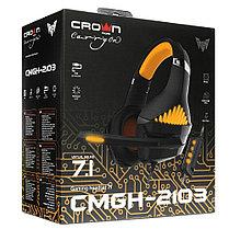 Наушники игровые CMGH-2103 Black&Orange, фото 3