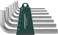 Комплект угловых шестигранников 2,5-10 мм, S2 материал, 7 предметов