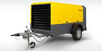 Передвижной компрессор Comprag Porta 10 на колесах, с доохладителем и сепаратором сжатого воздуха