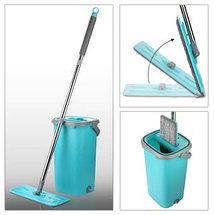 Швабра с отжимом Magic  Flat Mop & Bucket, фото 3