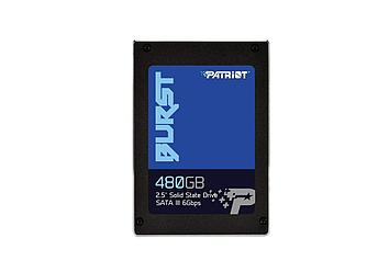 "Накопитель SSD 2.5"" SATA III Patriot 480GB BURST 560/540 PBU480GS25SSDR"