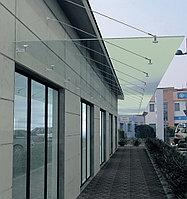 Навесы из нержавеющей стали со стеклом