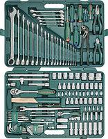 "S04H524127S (S04H524127S18) Набор инструмента универсальный 1/2"", 1/4""DR, 127 предметов"