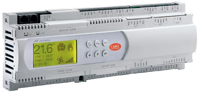Контроллеры для систем автоматизация Carel