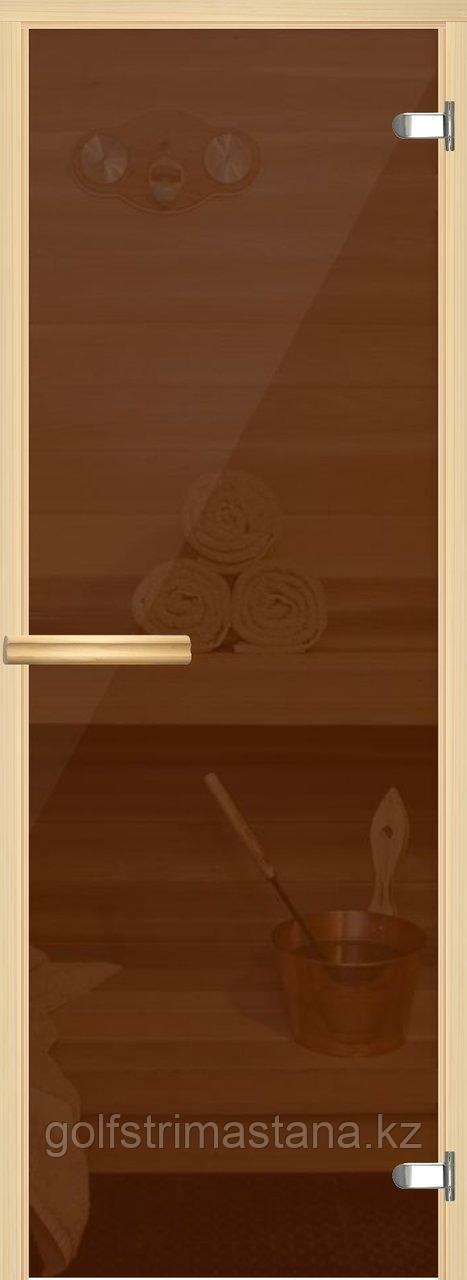 "Дверь ""EESTI SAUNA"", бронза, 700х1900 мм"