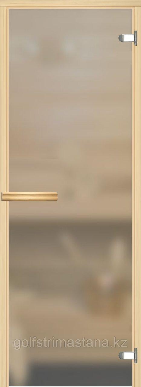 """Дверь """"EESTI SAUNA"""", сатин, 700х1900 мм"""