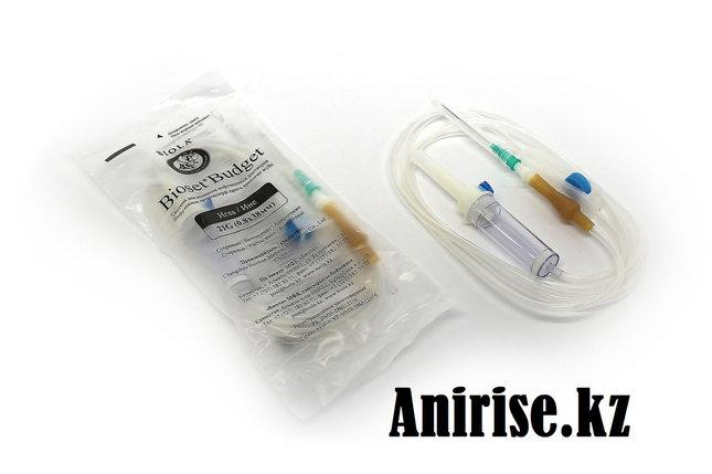 Система для вливания инфузионных растворов с иглой 21G, фото 2
