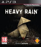 Heavy Rain : Asian Chinese + English Version ( PS3 )
