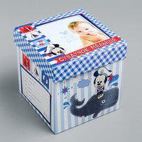 Памятная коробка для новорожденных 'Сундучок малыша', Микки Маус