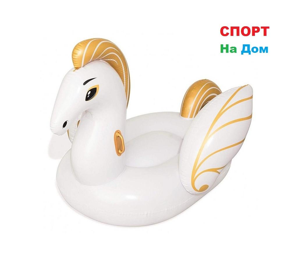 """Надувной матрас """"Золотой пегас"""" Bestway 41118 (231 х 150 см)"""