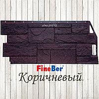 """Фасадная панель Fine Ber """"Камень природный"""" (Коричневый)"""