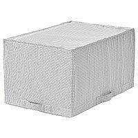 Сумка для хранения СТУК белый/серый ИКЕА, IKEA
