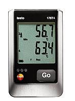 Testo Testo 176 T4 4-х канальный логгер данных температуры 0572 1764