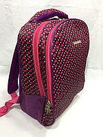 Школьный рюкзак для девочек, 0-й класс.Высота 35 см,длина 24 см, ширина 15 см., фото 1