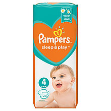 PAMPERS SLEEP&PLAY MAXI Regular Pack 14 (size 4)