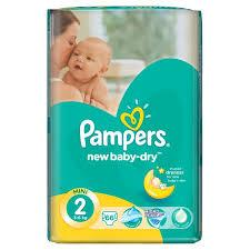PAMPERS NEW BABY DRY MINI Value Pack Minus 66 (size 2)