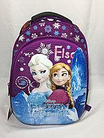 Школьный ранец для девочек, в 1-3-й класс.Высота 37 см, длина 27 см, ширина 15 см., фото 1