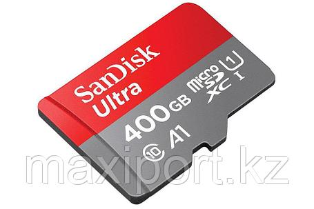 Micro SDXC Sandisk ultra 400G  100MB/S UHS-I 10 CLASS, фото 2