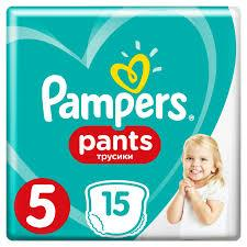 PAMPERS Pants Junior 15 шт (size 5)