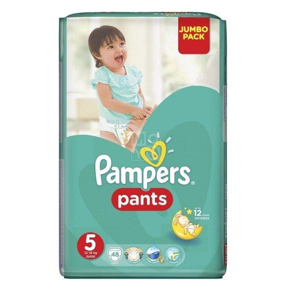 PAMPERS Pants Junior Jumbo Pack 48 штук (size 5)