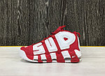 "Кроссовки Nike x Supreme ""Air More Uptempo"" (Varsity Red), фото 3"