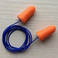 Беруши из пенополиуретана со шнурком, фото 2