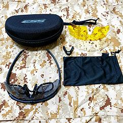 Тактические очки ESS с 3 сменными линзами в чехле