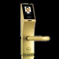 Электронный замок с идентификацией по лицу, временным паролям и считывателем RFID карт ZKTeco FL1000, фото 1