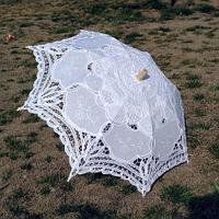 Зонт летний, кружевной.