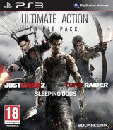 Ultimate Action Triple Pack: Just Cause 2, Sleeping Dogs, Tomb Raider ( PS3 )