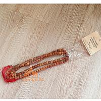 Четки из Сандалового дерева (резные), 108 бусин