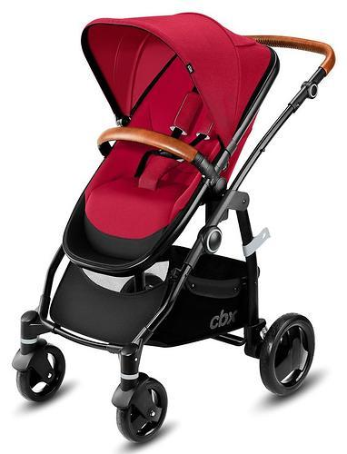 Коляска 2в1 CBX by Cybex Leotie Lux Crunchy Red