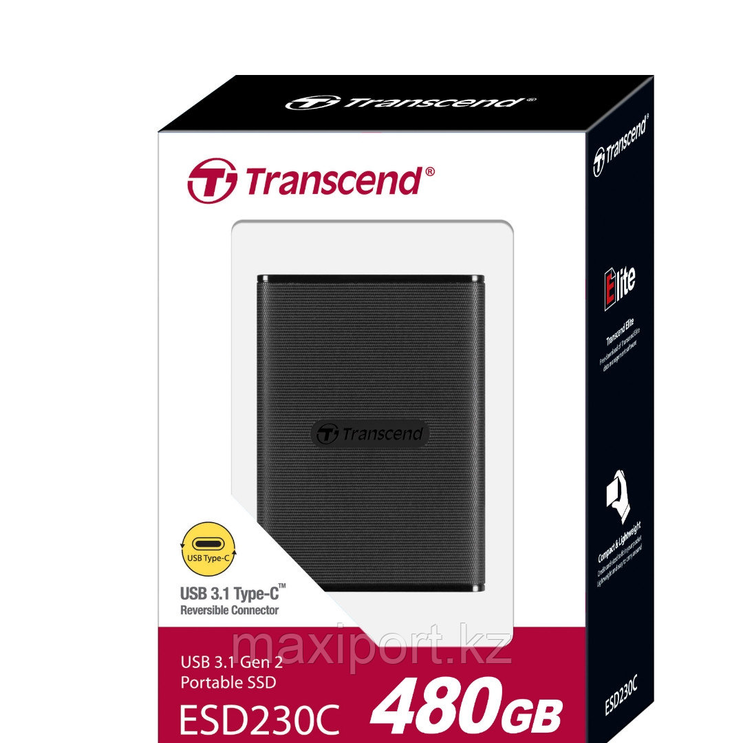 Portable SSD Transcend ESD230C 480GB  USB3.1 Type-C