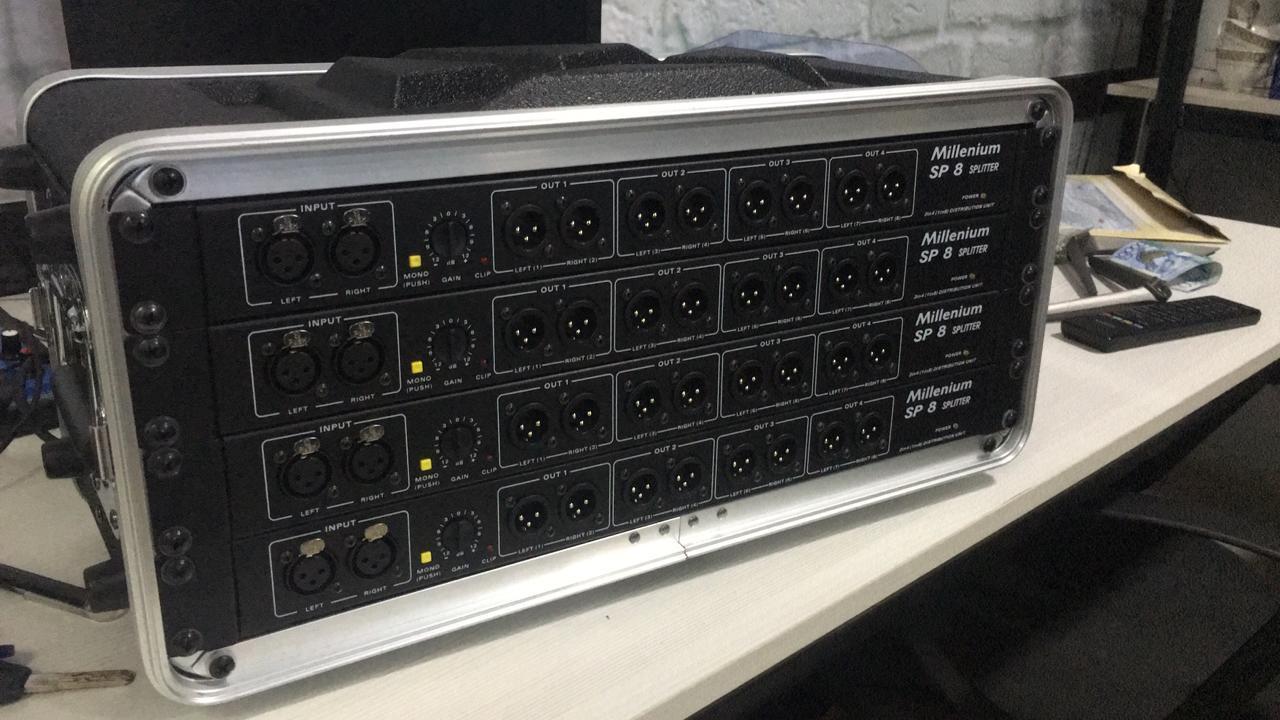 Аудио сплиттер, press box