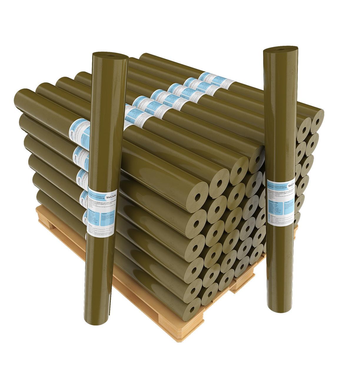 Самоклеющаяся мембрана для звукоизоляции стен и потолка Welldone membrane 3.8 S