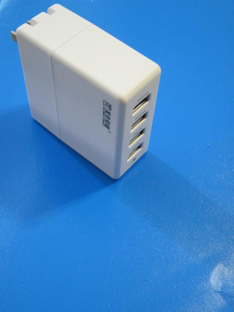 Универсальное зарядное устройство на 4 USB порта